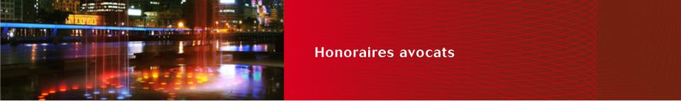 Honoraires avocats propriété industrielle